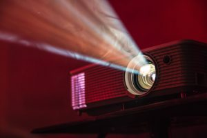 Photo of a projector by Alex Litvin